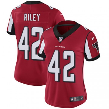 Women's Atlanta Falcons Duke Riley Red Limited Team Color Jersey By Nike