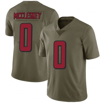 Youth Atlanta Falcons Jalen McCleskey Green Limited 2017 Salute to Service Jersey By Nike