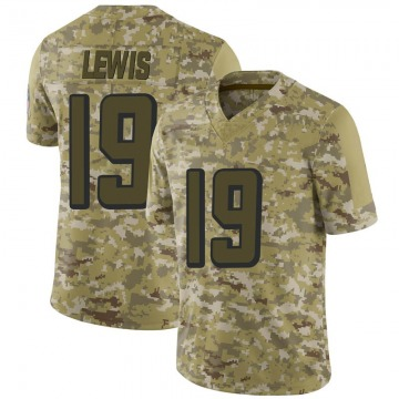 Youth Atlanta Falcons Kahlil Lewis Camo Limited 2018 Salute to Service Jersey By Nike