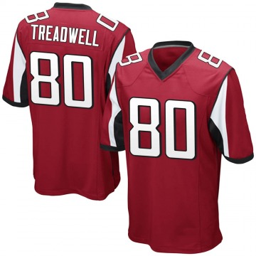 Youth Atlanta Falcons Laquon Treadwell Red Game Team Color Jersey By Nike