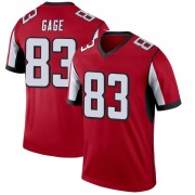 Youth Atlanta Falcons Russell Gage Red Legend Jersey By Nike