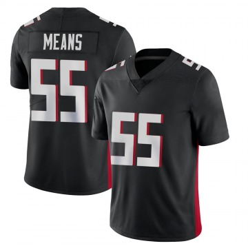 Youth Atlanta Falcons Steven Means Black Limited Vapor Untouchable Jersey By Nike