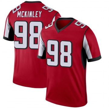 Youth Atlanta Falcons Takkarist McKinley Red Legend Jersey By Nike