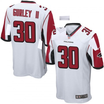 Youth Atlanta Falcons Todd Gurley White Game Jersey By Nike